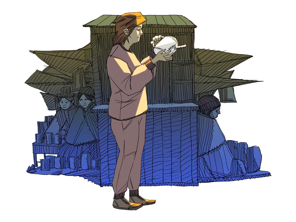 Ilustración de Oscar Zalles